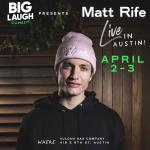 Matt Rife: Live In Austin